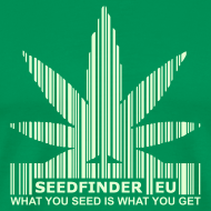 Motiv ~ SeedFinder.eu TShirt (Glow in the Dark)