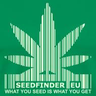 Design ~ SeedFinder.eu TShirt (Glow in the Dark)