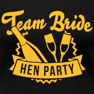 Team Bride - Hen Party T-Shirts - Frauen Premium T-Shirt