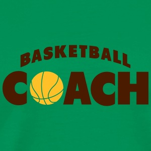 basketball coach T-shirts - Mannen Premium T-shirt