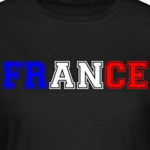 France tricolore Heavy Tee shirts - T-shirt Femme