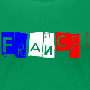 France tricolore Fors Tee shirts - T-shirt Premium Femme
