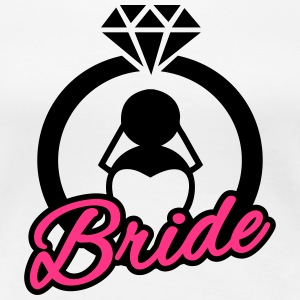 Bride - Ring T-Shirts - Women's Premium T-Shirt