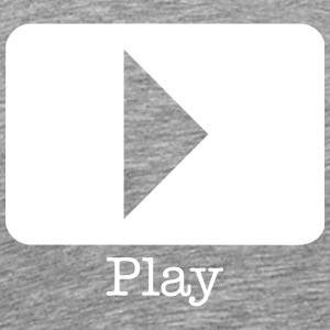 play record T-Shirts - Men's Premium T-Shirt
