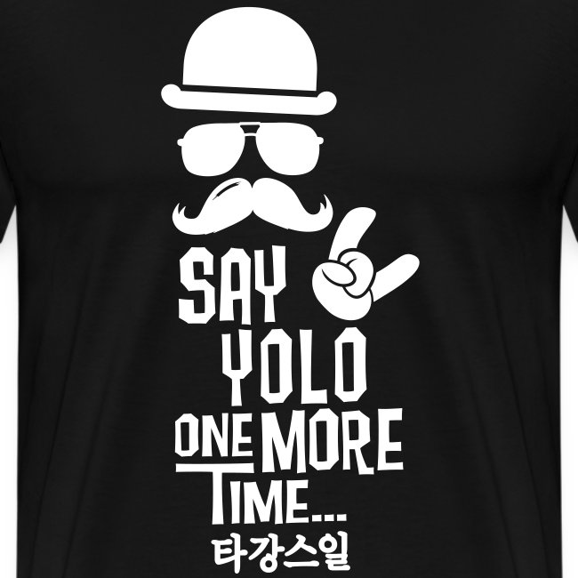 Say Yolo T-Shirt / Green