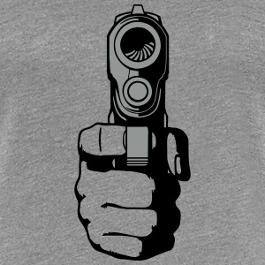 gun - i shoot you Tee shirts - T-shirt Premium Femme