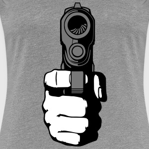 gun - i shoot you T-Shirts - Women's Premium T-Shirt