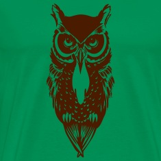 Kelly green Owl T-Shirts