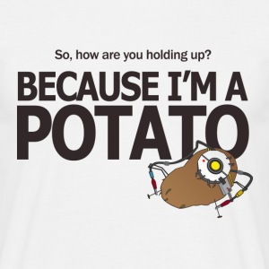 Portal Hello Potato - Herre-T-shirt