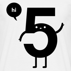 Hi five - T-shirt herr