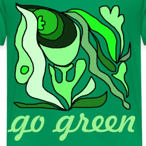 go green - Kinder Premium T-Shirt