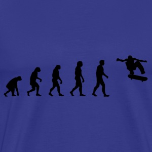 Darwin Evolution skate - Men's Premium T-Shirt