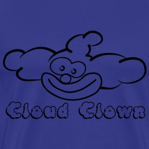 CloudClown - Männer Premium T-Shirt