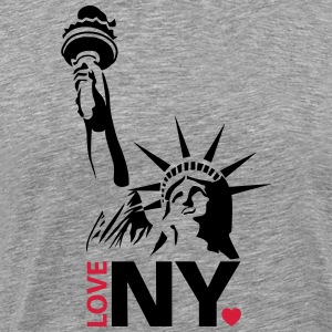 I love New York NY - Männer Premium T-Shirt