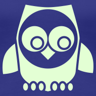 ~ T-shirt owl in the night