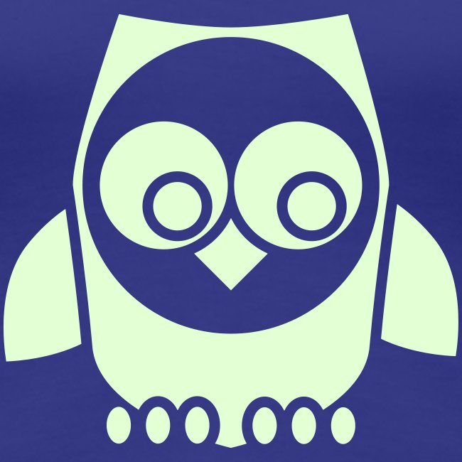 T-shirt owl in the night