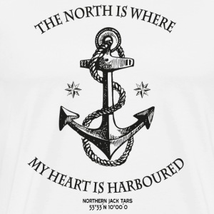 Northern Heart - Men's Premium T-Shirt