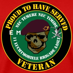 Proud to have served Veteran Jagers - Mannen Premium T-shirt