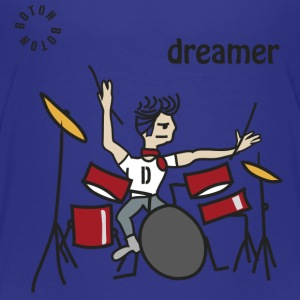 Drums Dreamer Shirts - Kids' Premium T-Shirt