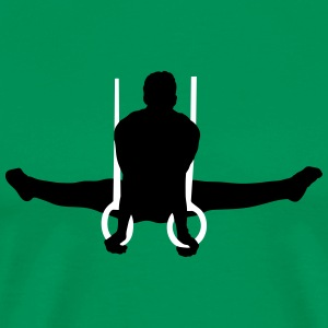 gymnastics men - Männer Premium T-Shirt