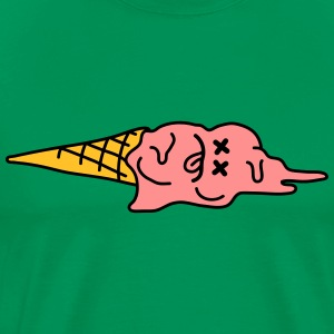 Dead Ice Cream On The Ground T-shirts - Premium-T-shirt herr