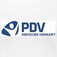 Motiv ~ T-Shirt PDV-Logo groß für Frauen