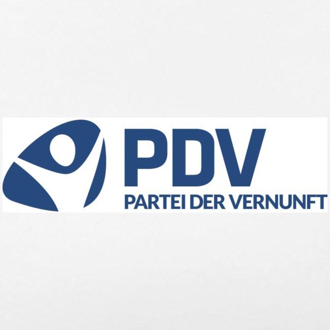 T-Shirt PDV-Logo klein für Frauen