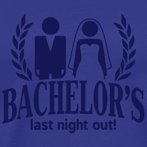 bachelor's last night out T-Shirts - Männer Premium T-Shirt
