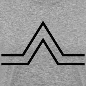 triangle sign T-Shirts - Men's Premium T-Shirt