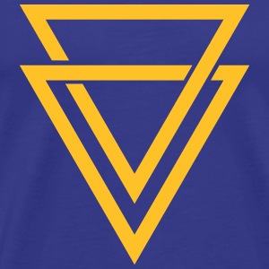 double triangle T-Shirts - Men's Premium T-Shirt