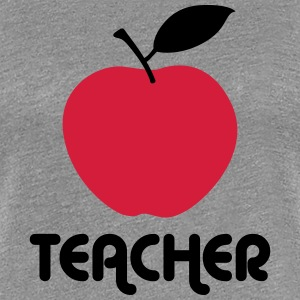 teacher apple T-Shirts - Women's Premium T-Shirt