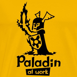 Paladin at work - Männer Premium T-Shirt