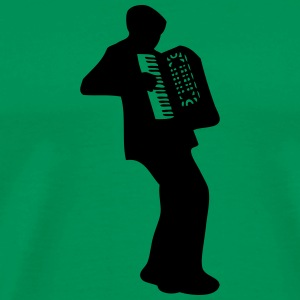 accordeon T-shirts - Herre premium T-shirt