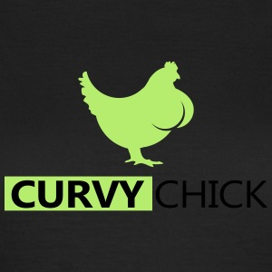 kurvige frauen curvy girls Chick - Frauen T-Shirt
