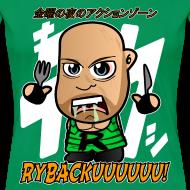 Design ~ Chibi Ryback - Japanese Shirt (Female)