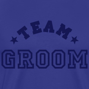 team groom T-skjorter - Premium T-skjorte for menn