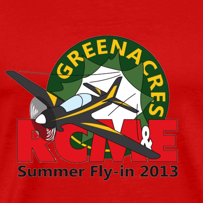 Greenacres RCM&E 2013 Fly-in T shirt 3XL+