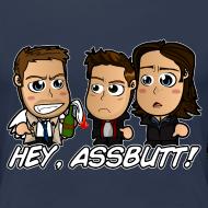 Design ~ Chibi Supernatural - Hey Assbutt Shirt (Female)