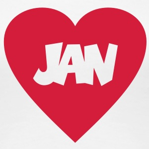 I love Jan T-shirts - Vrouwen Premium T-shirt