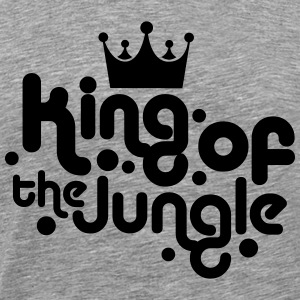 king of the jungle T-Shirts - Männer Premium T-Shirt