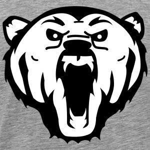 bear grizzly T-Shirts - Men's Premium T-Shirt