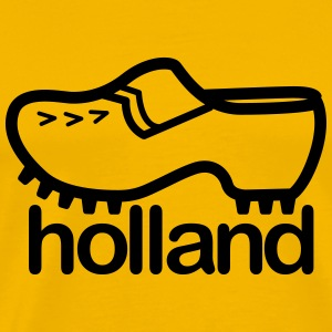 holland T-shirts - Mannen Premium T-shirt