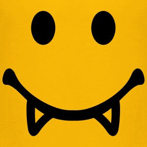 Smiley Vampir T-Shirts - Kinder Premium T-Shirt