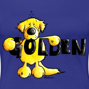 Golden Retriever - Hund - Frauen Premium T-Shirt