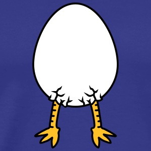 Chick In Egg Tee shirts - T-shirt Premium Homme