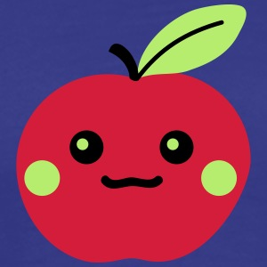 Cute Apple T-shirts - Herre premium T-shirt