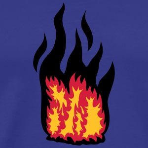 Big Fire T-shirts - Mannen Premium T-shirt