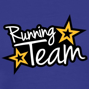 Running Team T-shirts - Herre premium T-shirt