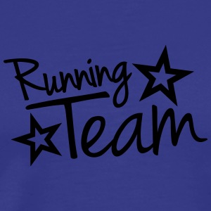 Running Team T-skjorter - Premium T-skjorte for menn