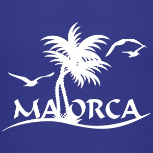 Mallorca-Palmen / Mallorca with palm trees (1c) Shirts - Teenage Premium T-Shirt